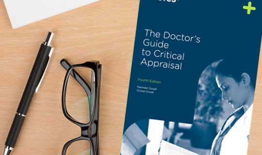 New edition of The Doctor's Guide to Critical Appraisal